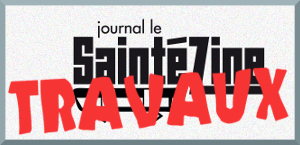 Travaux du Saintézine